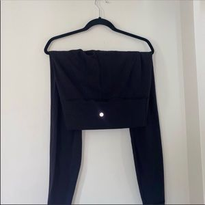 Black Lululemon high rise pants